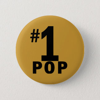 Number One Pop Products Pinback Button