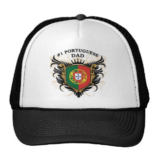 Number One Portuguese Dad Trucker Hat