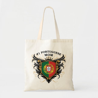 Number One Portuguese Mom Tote Bag