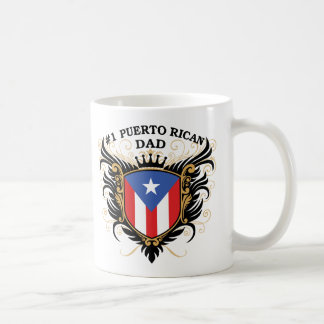 Number One Puerto Rican Dad Classic White Coffee Mug