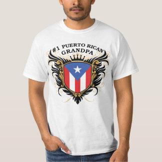 Number One Puerto Rican Grandpa T-Shirt