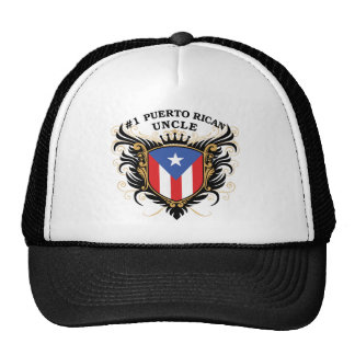 Number One Puerto Rican Uncle Trucker Hat