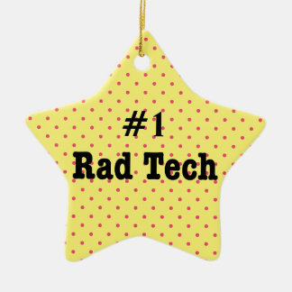 Number One Rad Tech Ornament