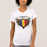 Number One Romanian Aunt Tee Shirt