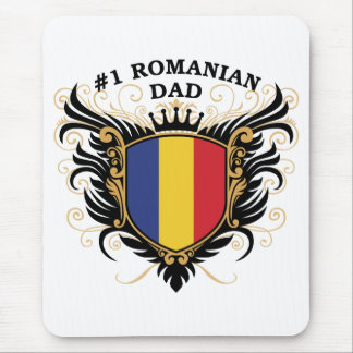 Number One Romanian Dad Mousepad