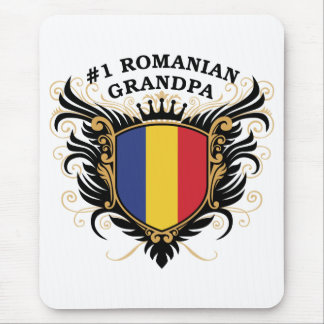 Number One Romanian Grandpa Mousepad