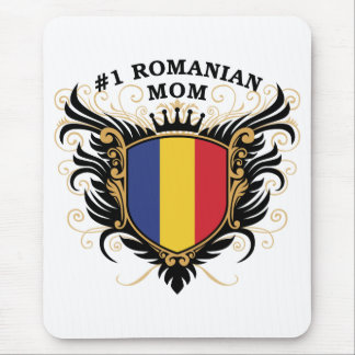 Number One Romanian Mom Mouse Pads