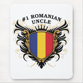 Number One Romanian Uncle Mouse Pads