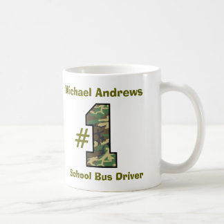 Number One School Bus Driver V37 Coffee Mug