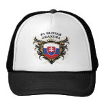 Number One Slovak Grandpa Trucker Hat