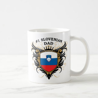Number One Slovenian Dad Coffee Mugs