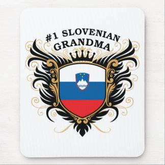 Number One Slovenian Grandma Mouse Pad