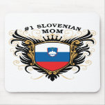 Number One Slovenian Mom Mousepads