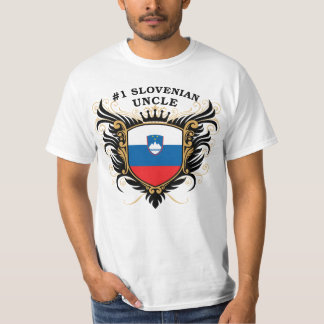 Number One Slovenian Uncle Tee Shirt