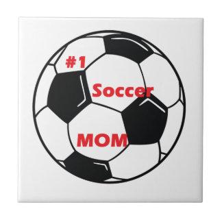 Number One Soccer Mom Ceramic Tile