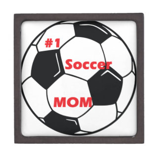 Number One Soccer Mom Gift Box