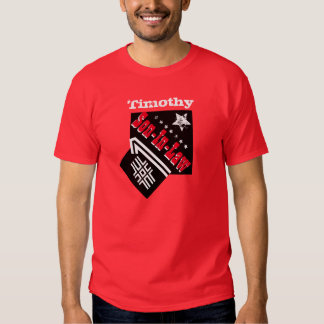 Number One SON IN LAW Black Red White A06C Shirt