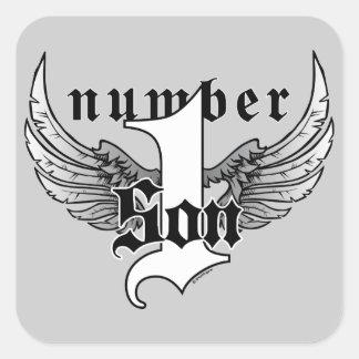 Number One Son Sticker