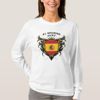 Number One Spanish Aunt T-Shirt