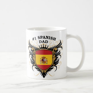 Number One Spanish Dad Mugs