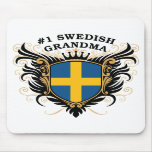 Number One Swedish Grandma Mouse Pad