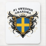 Number One Swedish Grandma Mouse Pad
