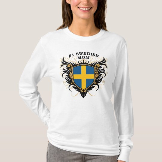 Number One Swedish Mom T-Shirt