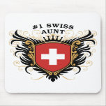 Number One Swiss Aunt Mouse Pads