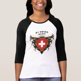 Number One Swiss Aunt T-Shirt
