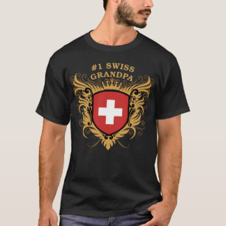 Number One Swiss Grandpa T-Shirt