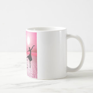 Number One Teacher -  Ballerina Design Coffee Mug