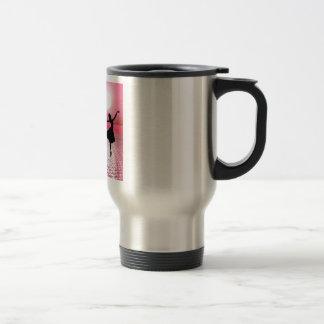 Number One Teacher -  Ballerina Design Travel Mug