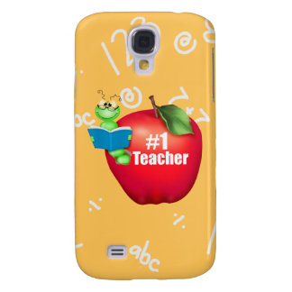 Number One Teacher Galaxy S4 Cover