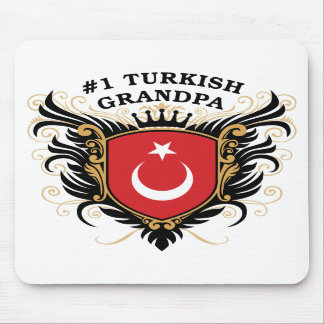Number One Turkish Grandpa Mouse Pad