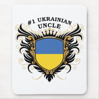 Number One Ukrainian Uncle Mouse Pad