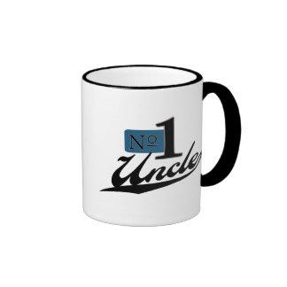Number One Uncle Ringer Mug