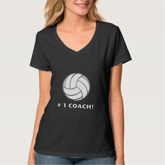 Number One Volleyball Coach T-Shirt