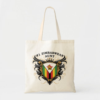 Number One Zimbabwean Aunt Tote Bag