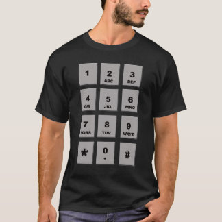 number pad T-Shirt