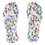 Number Pattern Flip Flops