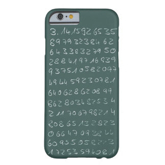 Number PI Barely There iPhone 6 Case
