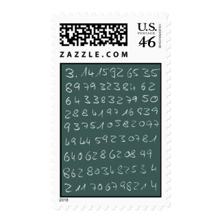 Number PI Postage Stamps