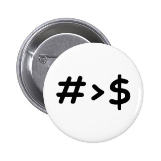 Number Pinback Button