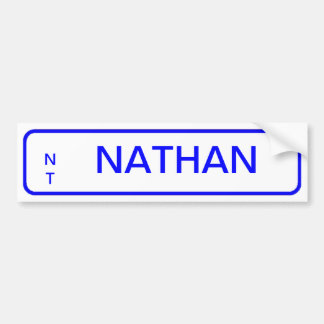 Number Plate Bedroom Door Labels