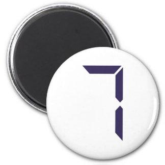 Number - Seven - 7 Magnet
