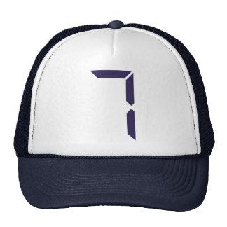 Number - Seven - 7 Trucker Hat