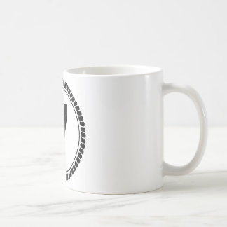 Number Seven Circle Coffee Mugs