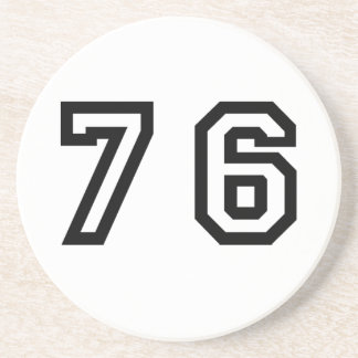Number Seventy Six Coaster