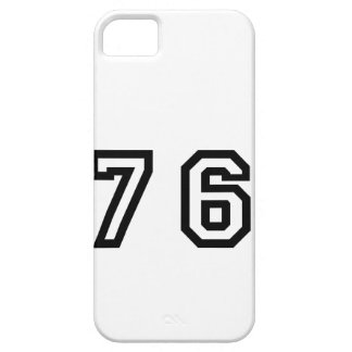 Number Seventy Six iPhone SE/5/5s Case