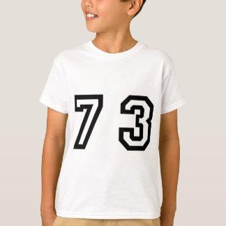 Number Seventy Three T-Shirt
